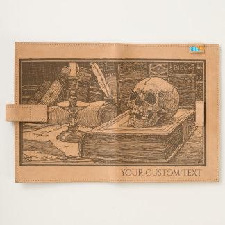 Skull Ghoulish Illustration Journal