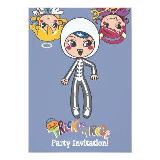 Skull Girl Personalized Invite
