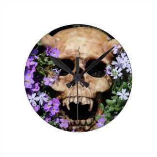 Skull - Gothic/clock