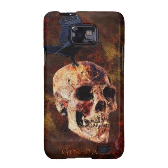 Skull & Gothic Crow Aaryn Steele Art Samsung Case