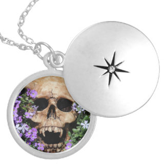 Skull - Gothic/necklace Silver Plated Necklace
