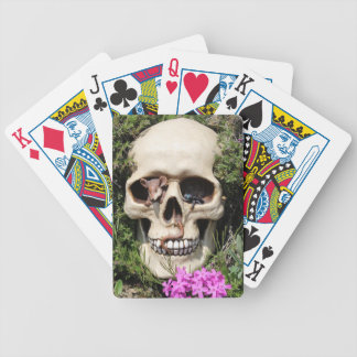 Skull - Gothic Spielkarten Bicycle Playing Cards