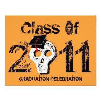 Skull Graduation Class of 2011 Invitation 1