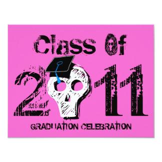 Skull Graduation Class of 2011 Invitation 3