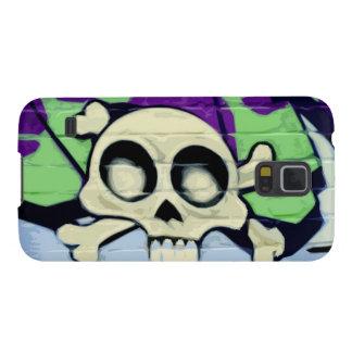 Skull Graffiti Case For Galaxy S5