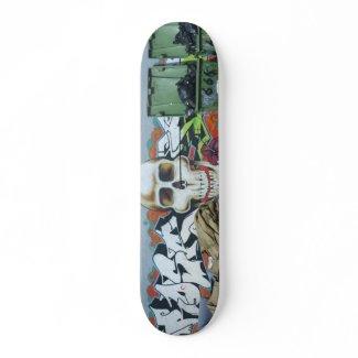 Skull Graffiti skateboard skateboard