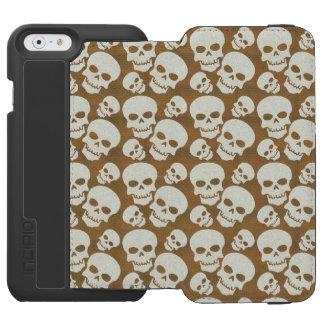 Skull Graphic Pattern Design iPhone 6/6s Wallet Case