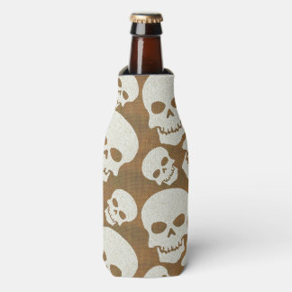 Skull Graphic Pattern Design Bottle Cooler