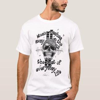 Skull & Graphics Music T-Shirt. Mens T-Shirt