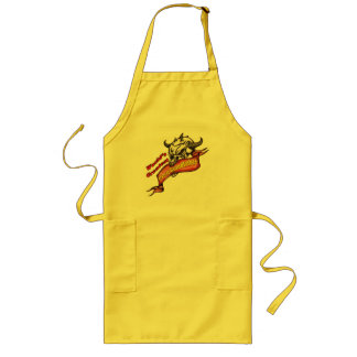 Skull Great Grandfather Fathers Day Gifts Long Apron