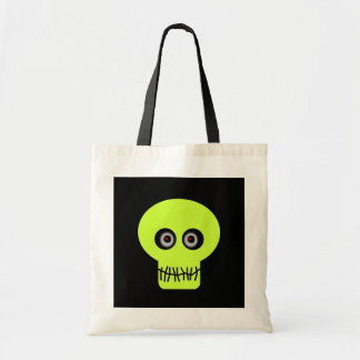 Skull - green bags