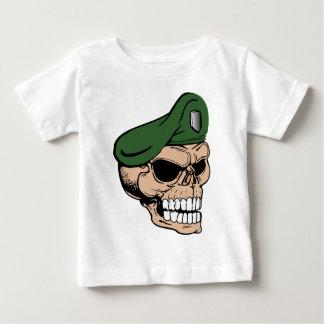 Skull Green Beret Baby T-Shirt