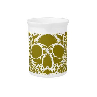 SKULL GREEN GOLD PRODUCTS PITCHER