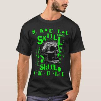 Skull - Green T-Shirt