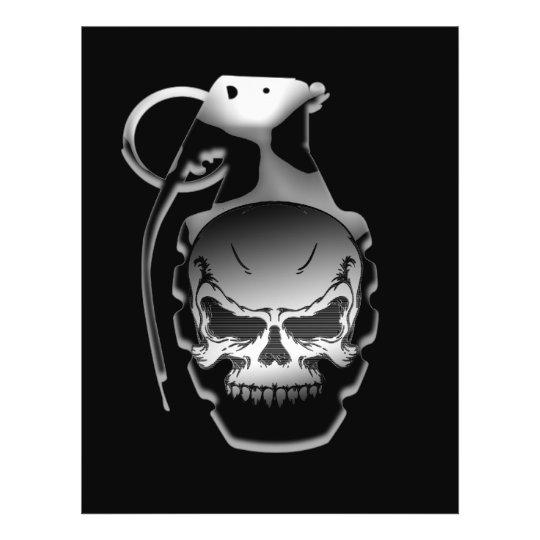 Skull Grenade Flyer