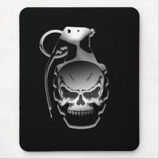 Skull Grenade Mouse Pad