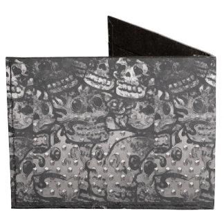 Skull Grunge  Dynomighty Tyvek Wallet