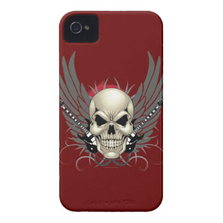 Skull, guitars, and wings case Case-Mate iPhone 4 case