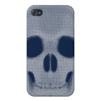 Skull Halftone Colored iPhone 4/4S Covers