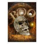 Skull Halloween Card