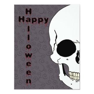 Skull Halloween Invitation