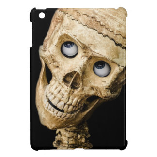 skull halloween people mask dummy scary holidays cover for the iPad mini
