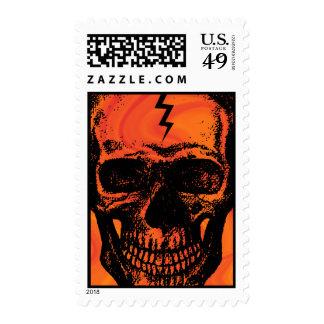 Skull Halloween Postage
