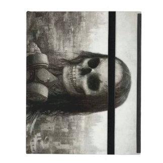 skull haloween iPad folio case