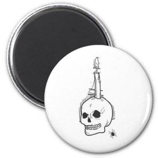 skull haloween fridge magnets