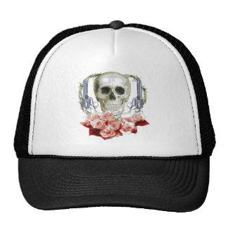 SKULL  TRUCKER HAT