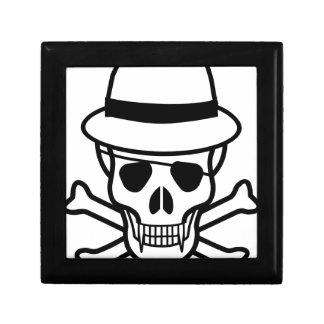 skull-hat jewelry box