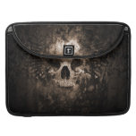 skull head 3d-abstract sleeves for MacBook pro