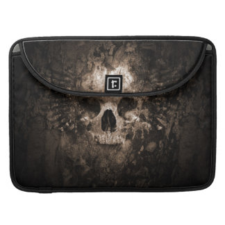 skull head 3d-abstract sleeves for MacBooks