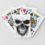 """skull head bicycle playing cards<br><div class=""""desc"""">skull head</div>"""