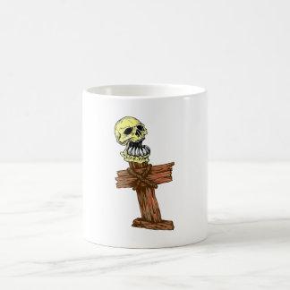 Skull head cross skull CROSSes Coffee Mug