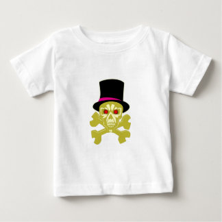 Skull head cylinder hat skull with top has