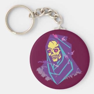 Skull head hood skull hood keychain
