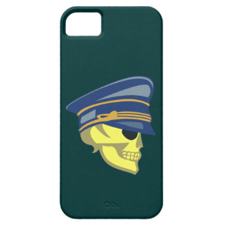 Skull head officer skull more officer iPhone SE/5/5s case