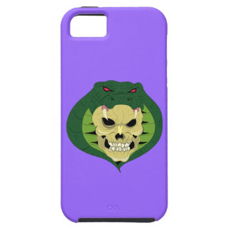 Skull head queue skull snake iPhone SE/5/5s case
