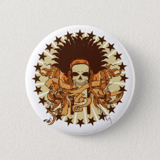Skull Headdress 2 Button