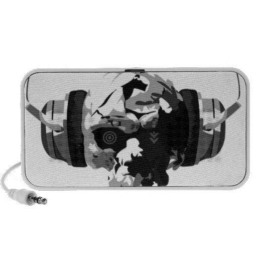 skull headphones speakers