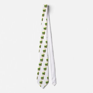 Skull Hearts Green The MUSEUM Zazzle Gifts Neck Wear