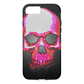 Skull Heavy Metal Fantasy Art iPhone 7 Case