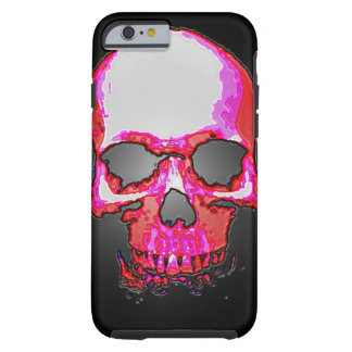 Skull Heavy Metal Fantasy Art Tough iPhone 6 Case