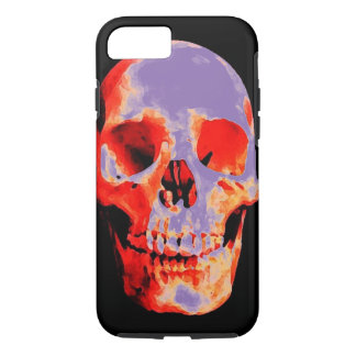 Skull Heavy Metal Rock Fantasy Art iPhone 7 Case