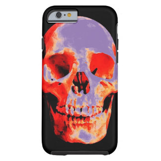 Skull Heavy Metal Rock Fantasy Art Tough iPhone 6 Case