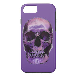Skull Heavy Metal Rock Fantasy Pop Art iPhone 7 Case