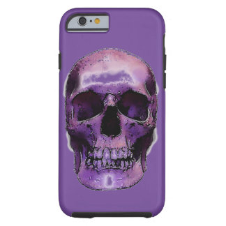Skull Heavy Metal Rock Fantasy Pop Art Tough iPhone 6 Case