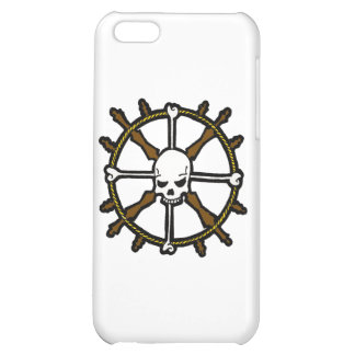 Skull Helm iPhone 5C Covers