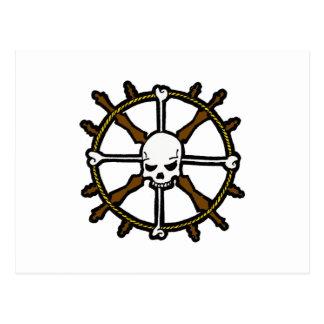 Skull Helm Postcard